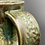 Thumbnail: Monstera mug with seaweed glaze 14oz