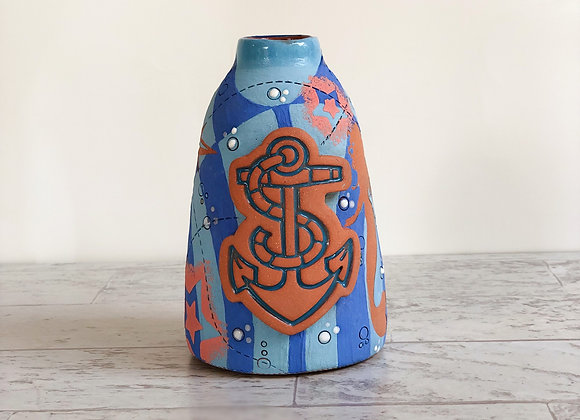 Anchor Vase/Pour Bottle