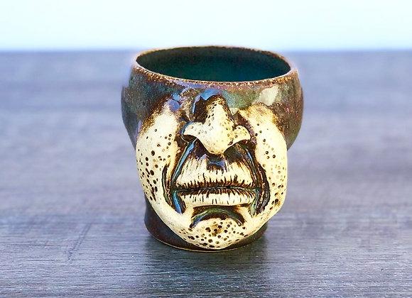 Mini face mug