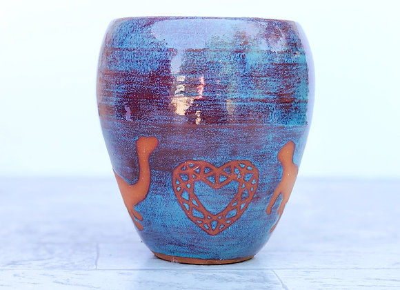 Gem and Dino Vase