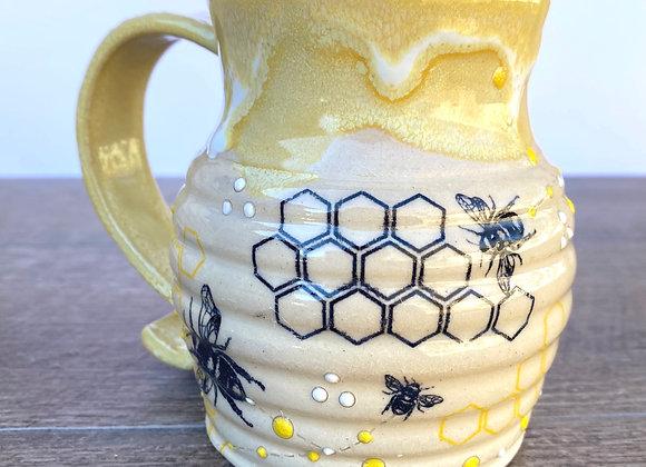 Bee mug #24