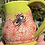 Thumbnail: Red spiderweb with green glazed mug