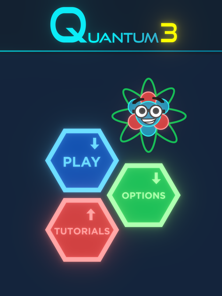 Quantum 3 Title Screen