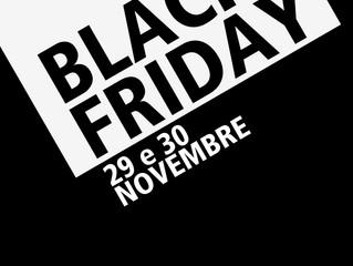 Black Friday | Sconti fino a -50%