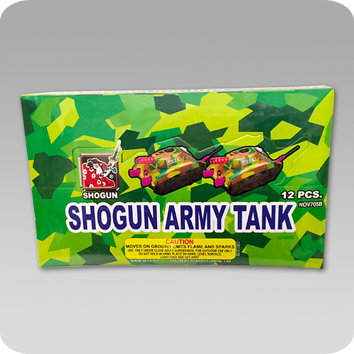 Tank with Stars (1 package of 6)