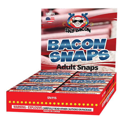 Adult (Bacon) Snaps (1 small box)