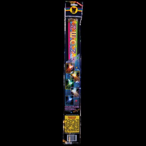 Neon Sparklers (1 pack,5 sparklers)