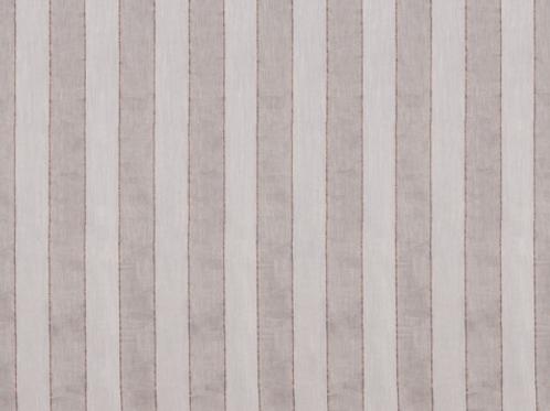 Abercromby Sheers | regent stripe | beige linen