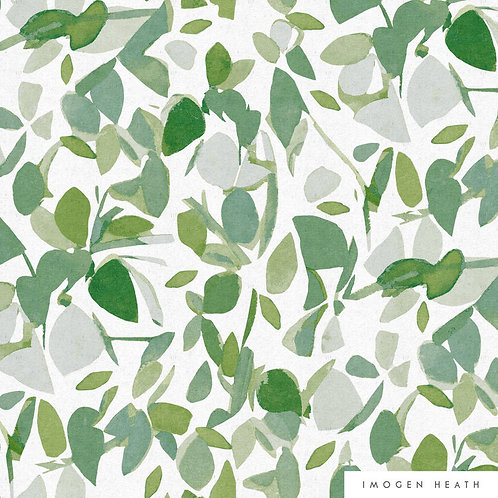 Evergreen | green + grey