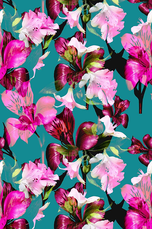 Floral   betty draper
