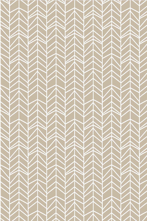 Graphics | off kilter in taupe
