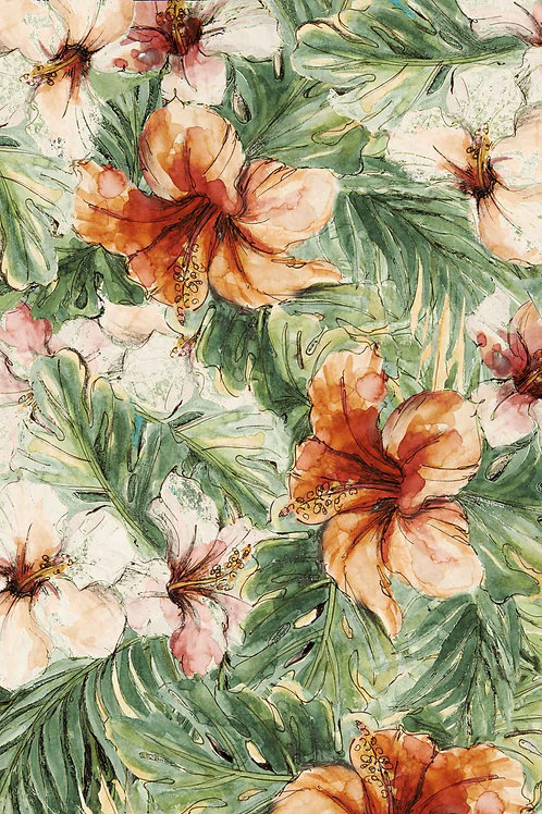 Floral | earth hibiscus