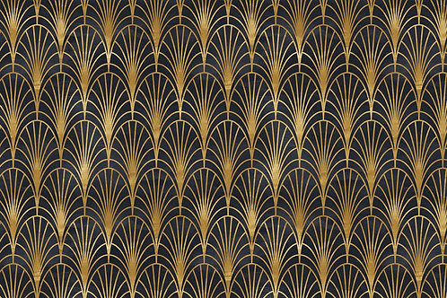 Patterns | fan of the opera in black
