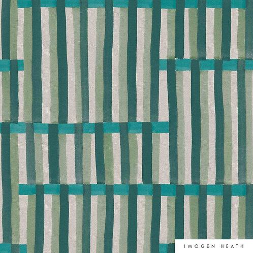 Anni Stripe | garden green