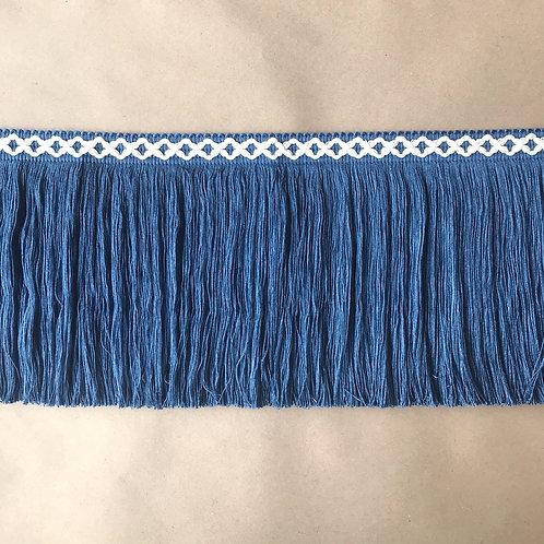 Fringe | 8 in diamond, dark blue