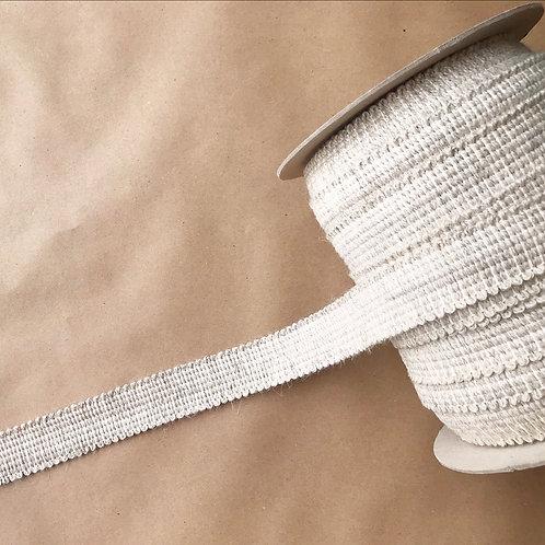 Tape | 1.5 in plain gimp, wool + natural cotton