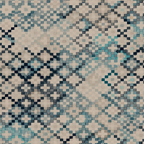 Tapestry | sea blue