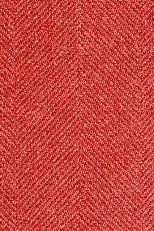 Aria Flannel Herringbone | rosewood