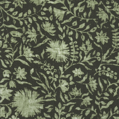 Madras Floral | willow