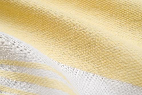 Jamieson Collection | landscape sheers | lemon meringue
