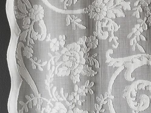Brodie Sheers | peony scroll | natural