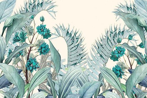 Leaves | blue tropic