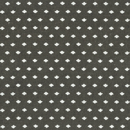 Calico Dot | charcoal