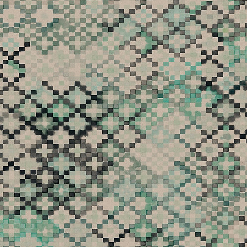 Tapestry | water green