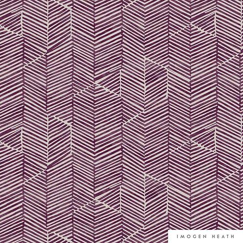 Aria Velvet | mulberry