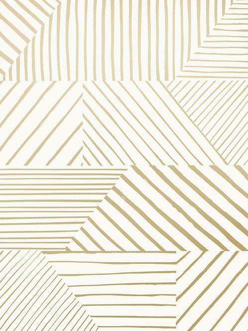 Parquet | gold on cream