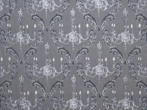 Brodie Sheers | chandelier | black + silver