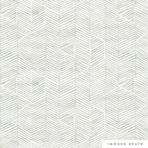 Aria Linen | grey green