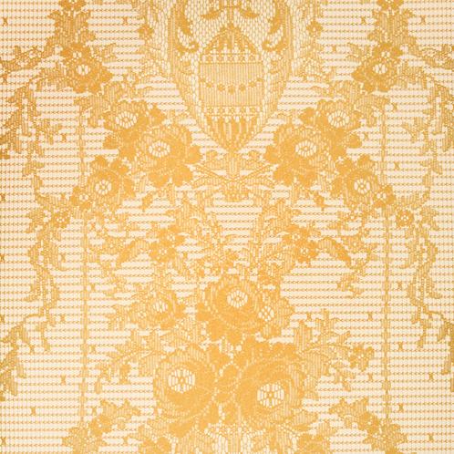Rose Damask | gold yellow