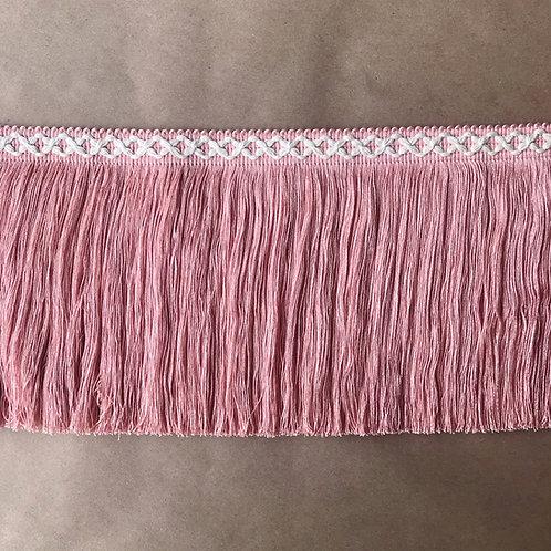 Fringe | 8 in diamond, light pink