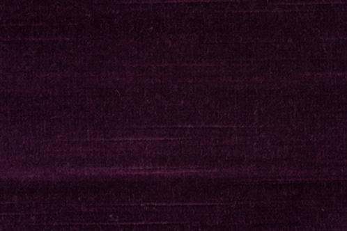 Canterbury Velvet | aubergine