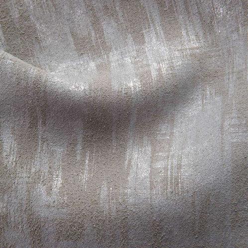 Brush Stroke | stormy hammered silver