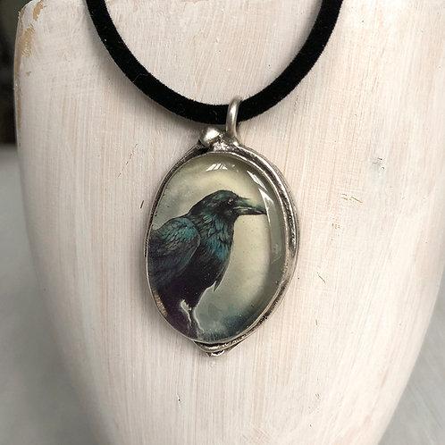 Pendant - Dark Raven