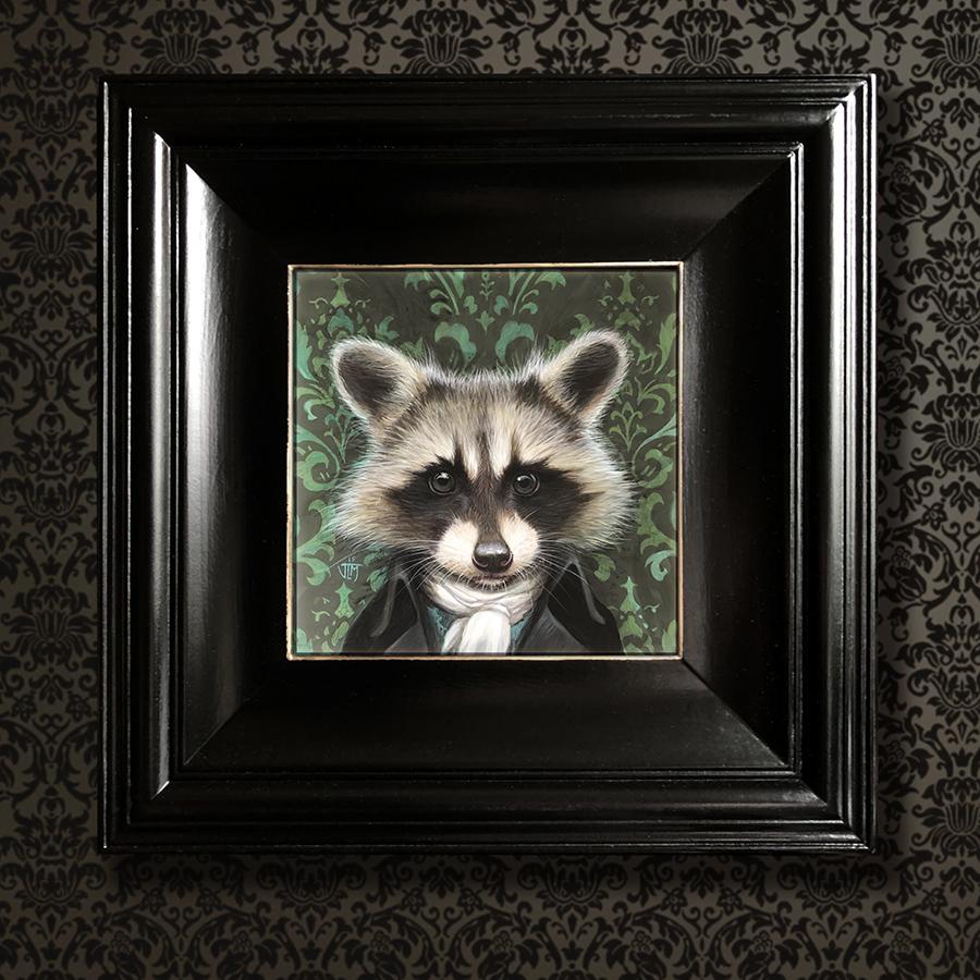 Raccoon final framed sept 2019 900px