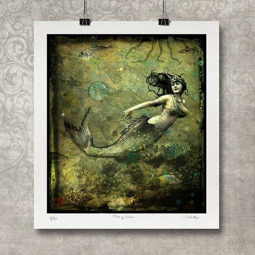 La Sirena - Limited Edition Print