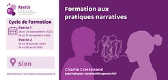 Flyer - formation aux pratiques narrativ
