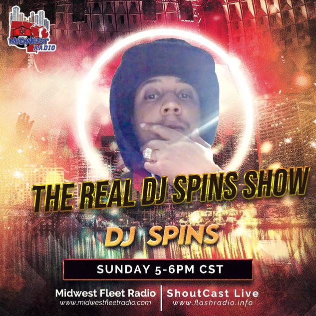 DJ Spins - Sundays 5-6pm Cst