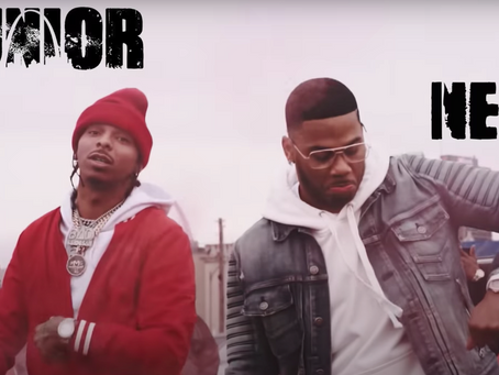 Junior x Nelly team ups for one of the dopest heavy weight records of the year.