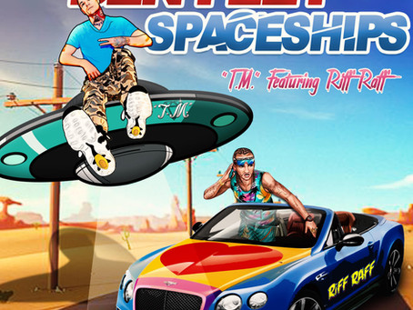 Las Vegas Talent, T.M. invites you to take a ride on his new single 'Bentley Spaceships""