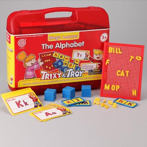 The Alphabet - Maleta Mega Learner Trixy & Troy