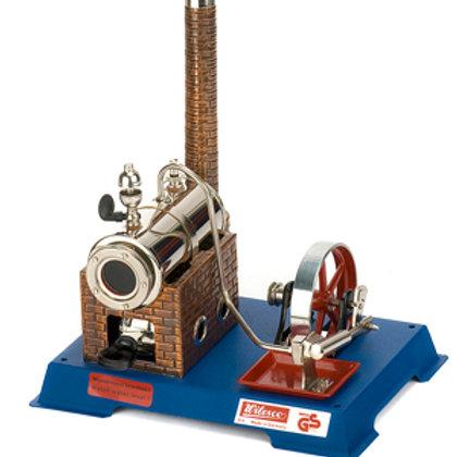 Máquina a Vapor Wilesco D6 y accesorios