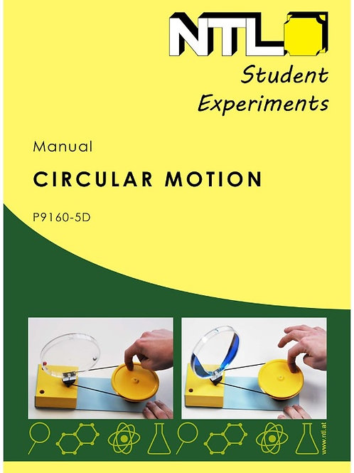 Movimiento Circular. Manual NTL SEK EXPERIMENTS