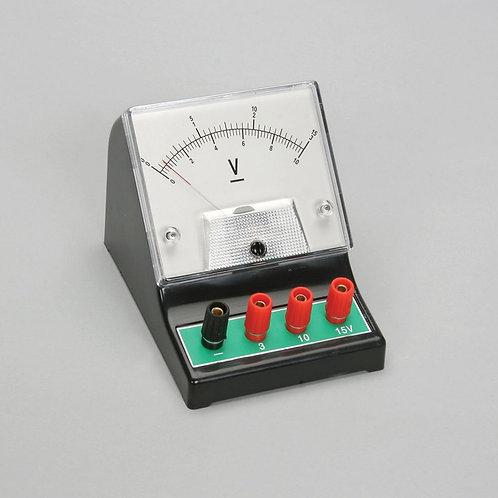 Voltímetro Análogo 0-3V / 10V / 15V
