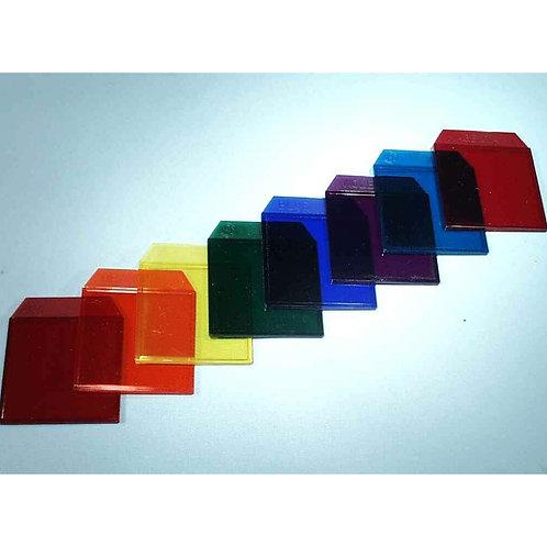 Set Filtros de Colores 8