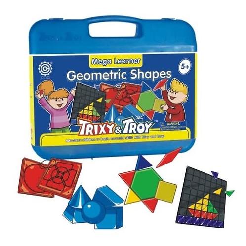 Geometric Shapes - Maleta Mega Learner Trixy &Troy