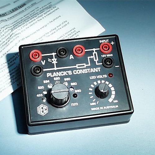Aparato para determinar la Constante de Planck
